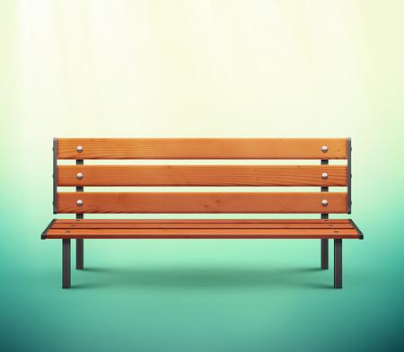 silla: Un aislado banco, eps 10