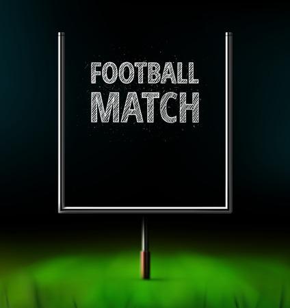 アメリカン フットボールの試合、eps 10