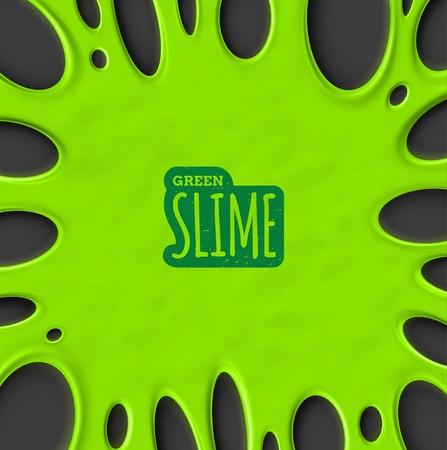 slime: Green slime background, eps 10