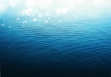 Wasser Hintergrund, Farbverlauf Mesh, eps 10 Standard-Bild - 37448849