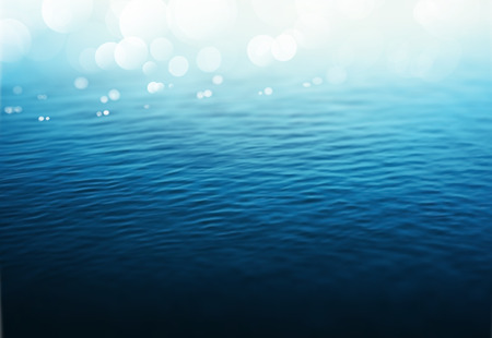 water surface: Water background, gradient mesh, eps 10 Illustration