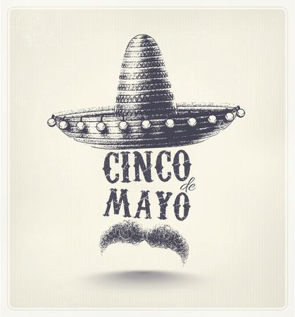 Cinco De Mayo, Ferienplakat Illustration