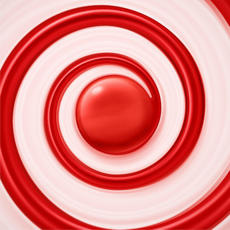 Sweet swirl background, cream and jam