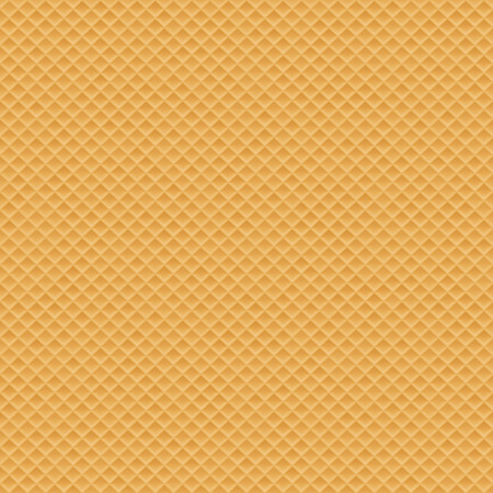 Wafer seamless texture background Illustration