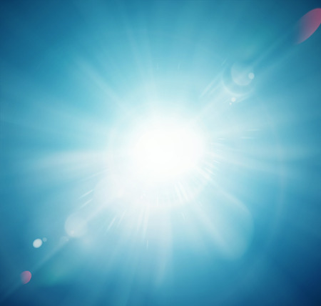 Sun Shine, abstraktní pozadí, eps 10 Ilustrace