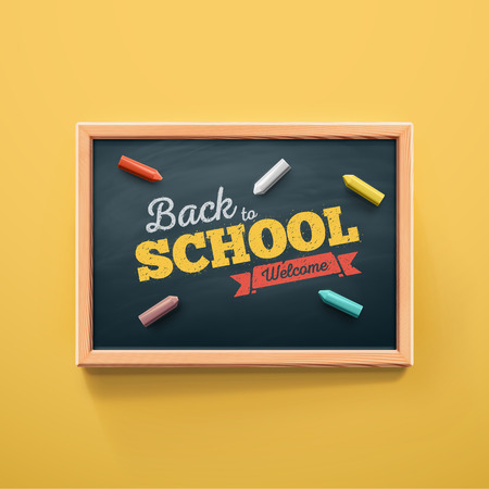 school class: Back to school, eps 10