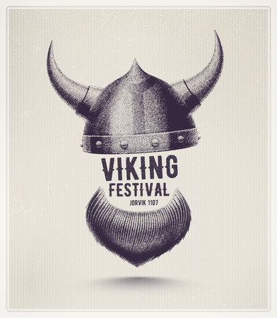Viking helmu a vousy, Jorvik viking festival