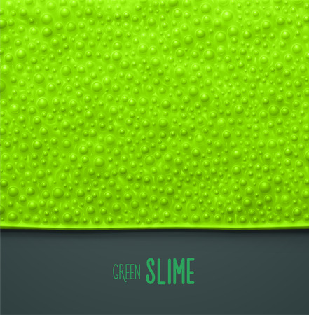 Green slime background, eps 10