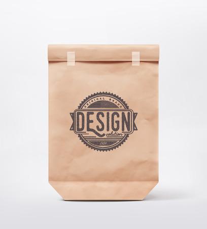 デザインのための紙の袋