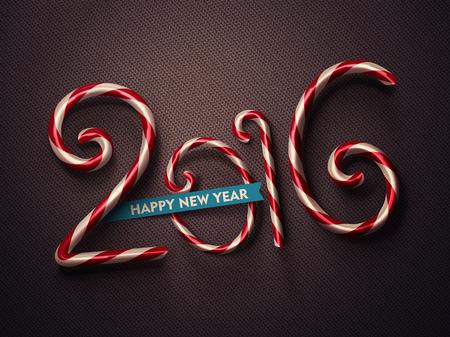 2016, Šťastný Nový Rok, eps 10