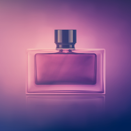Isolated perfume boottle