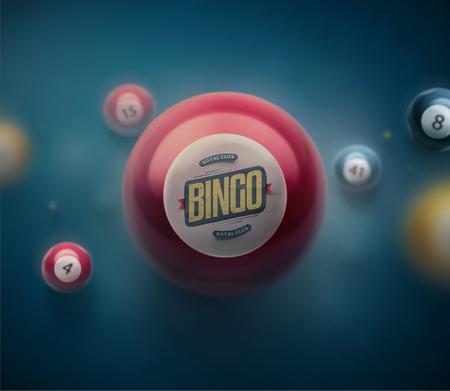 Barevné loterie koule