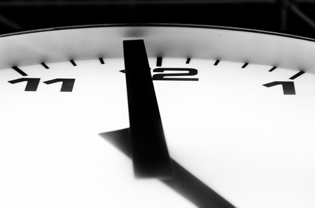 o'clock: The last minute to five oclock