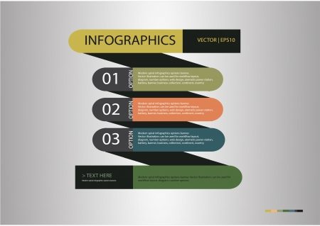 infographics and web design, background Vector
