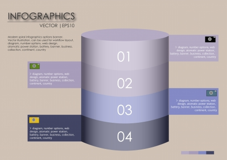 web design background: infographics and web design, background Illustration