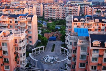 상하이 아파트, 중국 스톡 콘텐츠