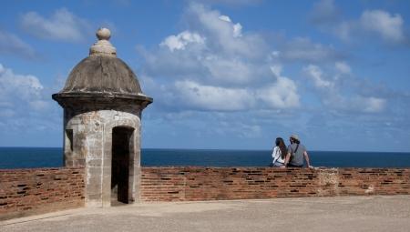 bandera de puerto rico: fortaleza en Puerto Rico