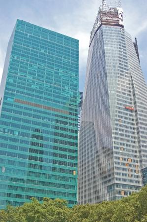 sky scrapers: skyscrapers in manhattan Editorial