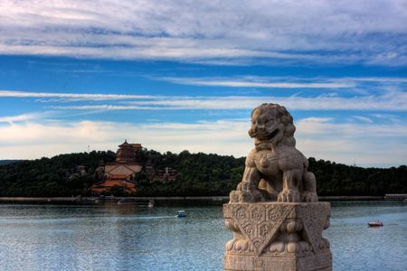 Summer Palace,Beijing Stone Lions