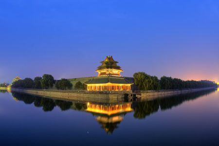 Beijing,China.Qing Dynasty palace construction