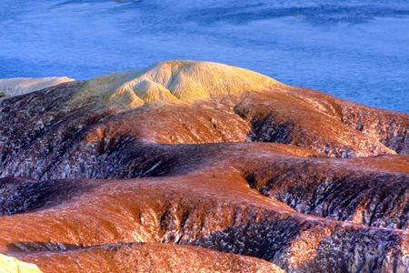 landform: danxia landform Stock Photo