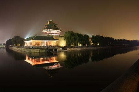 turret: The Imperial Palace in Beijing turret