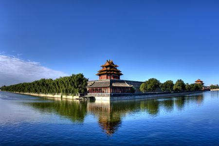 The Imperial Palace in Beijing turret