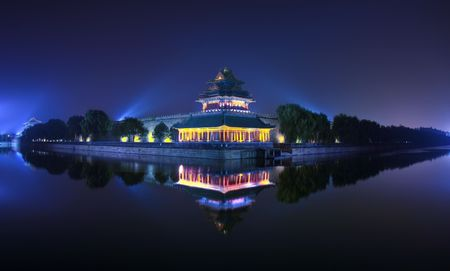 characteristics: The Imperial Palace in Beijing turret