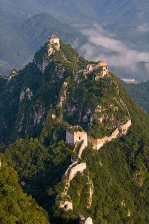 In Beijing in the territory of the Great Wall in Huairou Stock Photo - 4280010