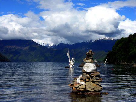 fagot: Tybet fagot środków MaNiDui Zdjęcie Seryjne