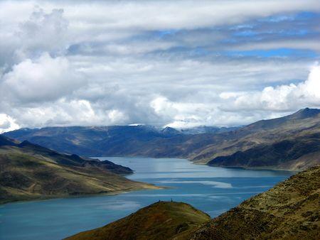 sanctity: Laghi della Cina in Tibet plateau