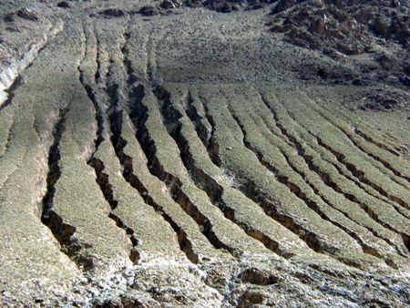 plateau: Chinas Tibet plateau soil erosion           Stock Photo