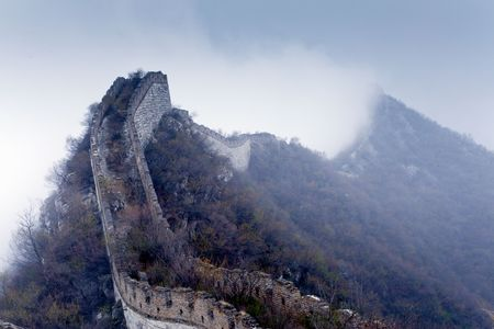 Fog over the Great Wall photo