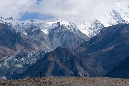 plateau: Chinas Xinjiang Plateau landscape