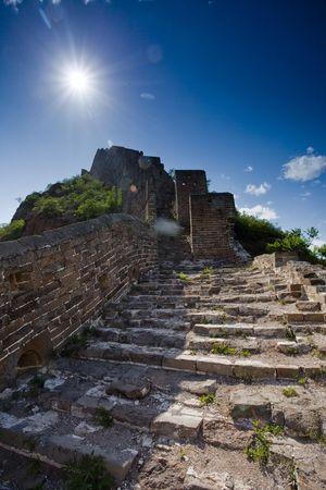 Jinshanling Great Wall of China Stock Photo - 4938038