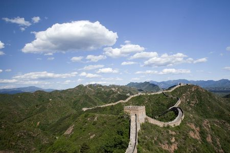 Jinshanling Great Wall of China Stock Photo - 4938016