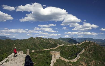 Jinshanling Great Wall of China Stock Photo - 4937988