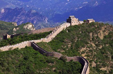 Jinshanling Great Wall of China Stock Photo - 4938071