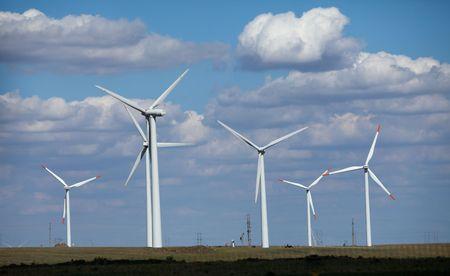 energia eolica: Estaci�n de energ�a e�lica Foto de archivo