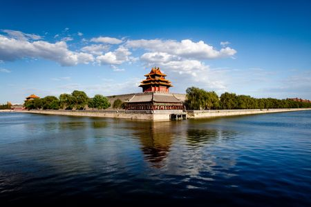 600 years of history of China ancient architecture turret