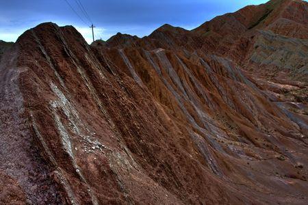 xinjiang: Chine Xinjiang Danxia