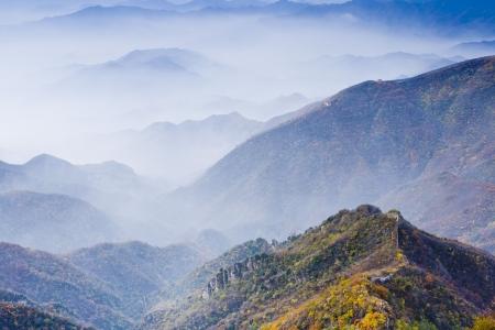 Autumn Great Wall of China photo