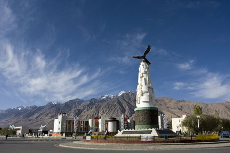xinjiang: County, Xinjiang, China Tower logo - Snow Eagle