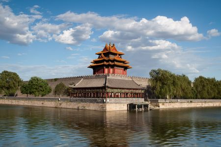 Beijing, China 600-year history of the ancient buildings: turret Stock Photo - 6016485