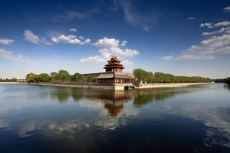 emperor: 600 years of history of ancient Chinese Palace: Forbidden City Stock Photo