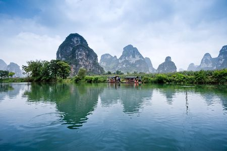 Rural scenery in Guangxi