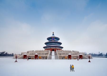600 years of history of Chinese Beijing tiantan QiNianDian