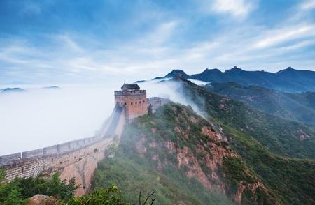 Jinshanling Great Wall of China Stock Photo - 11141639