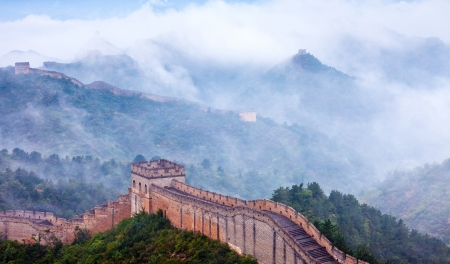 Jinshanling Great Wall of China Stock Photo - 11141637