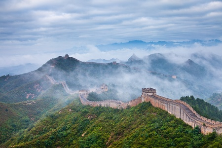 Jinshanling Great Wall of China Stock Photo - 11141642